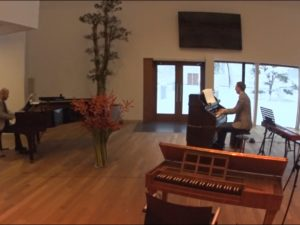 Pianoduo Hans en Matijs